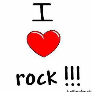 i love rock .....