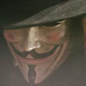 masque de V