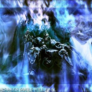 arthas sur le trône de glace