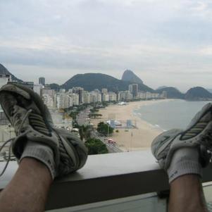 courir à Copacabana