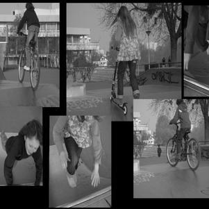 et oui c'est au skate park nous on sort