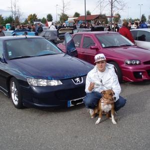moi et ma voiture et mon chien