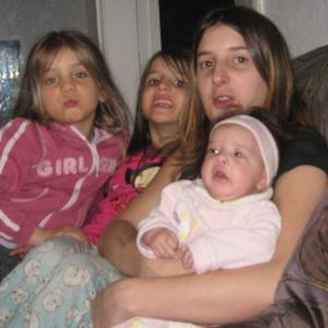moi et mes trois filles
