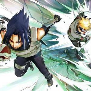 Naruto et Sasuke ANBU