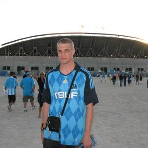 Moi au Stade Vélodrome