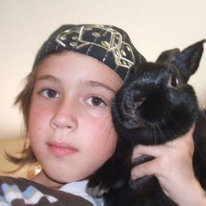 its me and my bunny toto