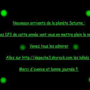 ET VOICI LES DP3 2008 !!!!!