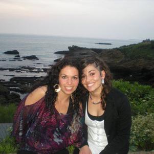 A Biarritz avec ma Boop ... Parce qu'on le vaut bien :)