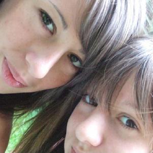ma sister (L) & me'