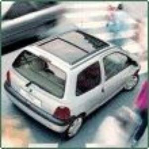 Mon avatar, une Twingo I à toit ouvrant panoramique en verre