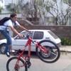 stunt-biker