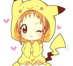 pikachu girl kawaii