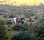 la famille fidouh dans excursion au mon village wlad abdelwahed.