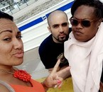 Avec Athéna et Deborah à Rouen - Août 2017.