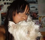Baby dog & me