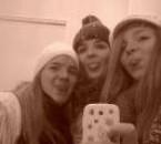 Moi et mes deux soeurs Fanny et alison J'vous n'aime <3