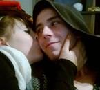 Toi et moi mon bebey je t'aime fort