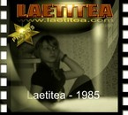 Photo de Laetitea en 1985