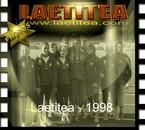 Photo d'équipe avec Laetitea, en 1998