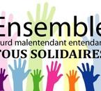 Ensemble Sourd Malentendant Entendant Tous Solidaires *// esme tous solidaires