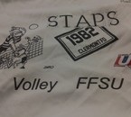 equipe STAPS volleyball clermont ferrand :D