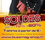 Soldes sur buzzmag-shop.fr