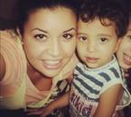 Avec mon petit neveu Wael