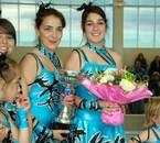 Celia et moi avec le bouquet :)