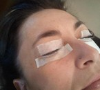 réhaussement de cils et préparation pour le mascara semi permanent .
