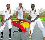 Seydou Keita Kanoute FC Seville Mahamdou Diarra (Real Madrid