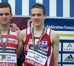 Médaille aux France de 10 km 2011. 31'29''