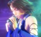 Yuna qui chante
