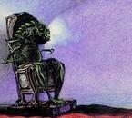 Krakra clin d'nez à Lovecraft.