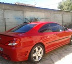 406 coupé rouge