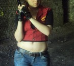 Claire Redfield (RE code véronica) by Justine