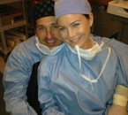 Derek et Meredith shepherd
