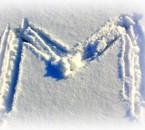 Neige le 6 Février M de Morgane dans la snow *