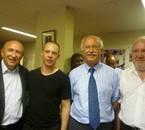 Gérard Collomb, moi, Jean-Louis Touraine, Alain Devornique