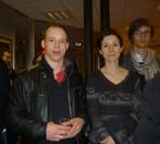 Lyon - 29.03.2013 Au milieu, Barbara Romagnan, députée du Doubs.