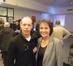 Lyon .05.12.2013 - A droite Sylvie Guillaume, députée européenne