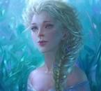 Un Magnifique Portrait de la Reine des Neiges