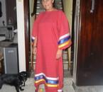 Kateya Nouvelle robe Lakota, faite par Lilly-Rose.