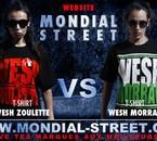 WESH ZOULETTE V.S WESH MORRAY sur WWW.MONDIAL-STREET.COM