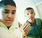 ma cousin et moi