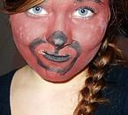 Maquillage ourson pour le téléthon :p