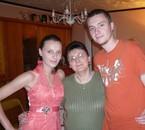 moi avec ma fille amelie et mon garçon jérome  y sont super