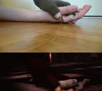 Mes mains, avec et sans retouche !