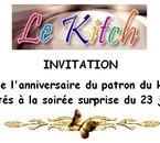 Anniversaire du patron du Kitch - 23.07.2015