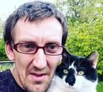 moi et mon chat Ezio
