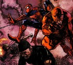 Spider-Man with Daredevil, Luke Cage & Iron Fist